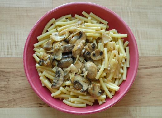 Creamy Pasta With Mushrooms