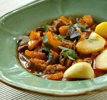 vegan goulash