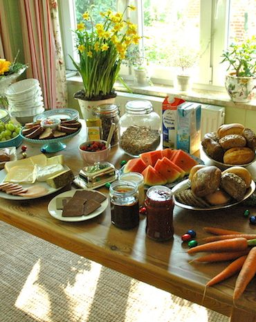 breakfast buffet ideas