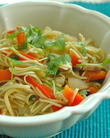quick thai noodles