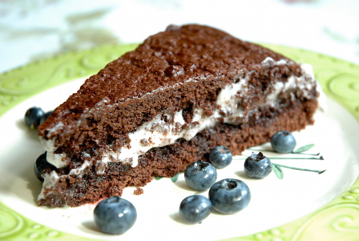 Chocolate & Cream Cake