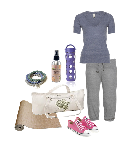 Eco Friendly Yoga Outfit