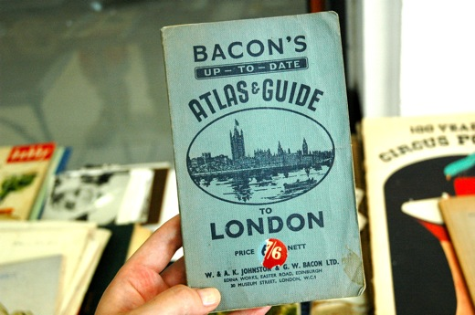 Old London travel guide. So cool!