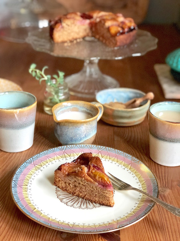 vegan plum cake recipe