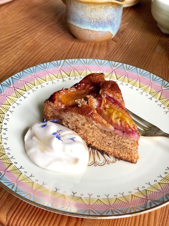 vegan plum cake recipe