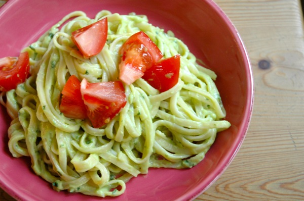Vegan Avocado Cream Pasta