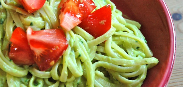 Avocado Cream Pasta (Vegan)