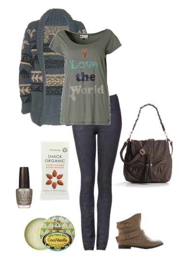 eco fashion outfit