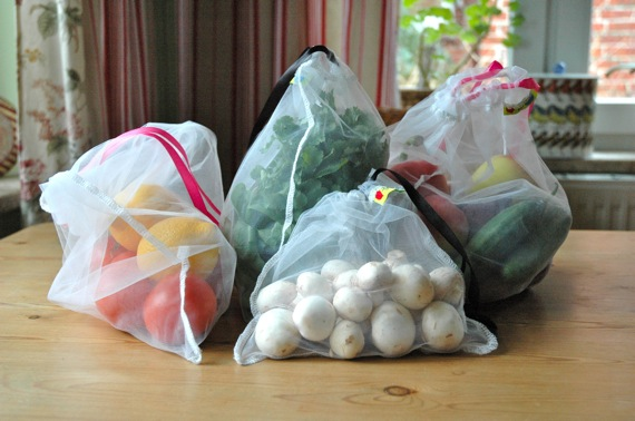 Reusable produce bags from LoveForEarth
