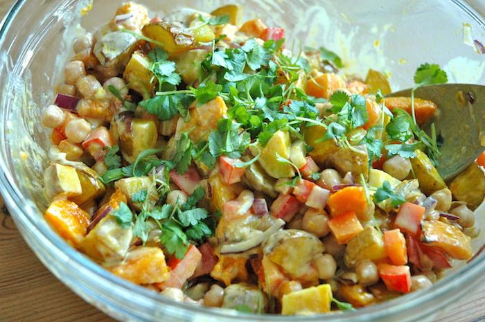 Warm Potato Salad