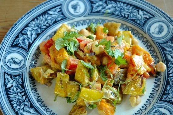 Warm Winter Salad (Vegan)