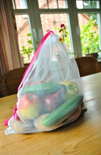 Jumbo size produce bag