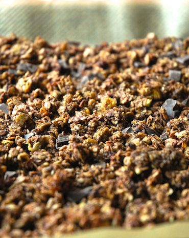 orange chocolat granola
