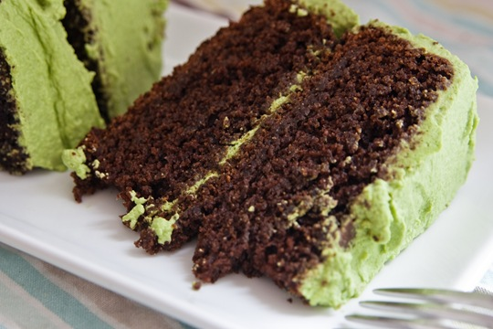 Vegan Chocolate Avocado Cake by The Edible Perspective