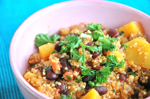 Sweet Potato Quinoa Stew