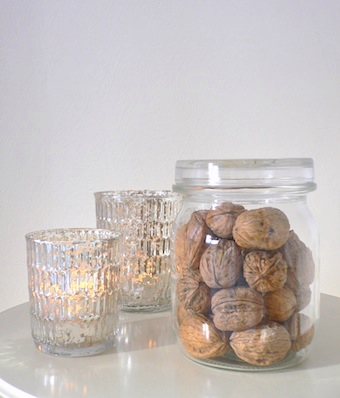 I also love filling maison glasses with nuts