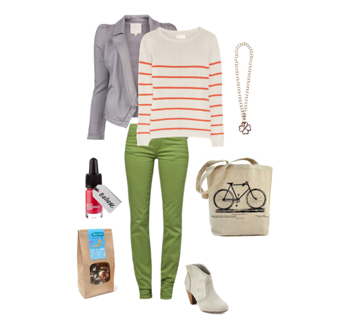 Colorful Eco Friendly Outfit