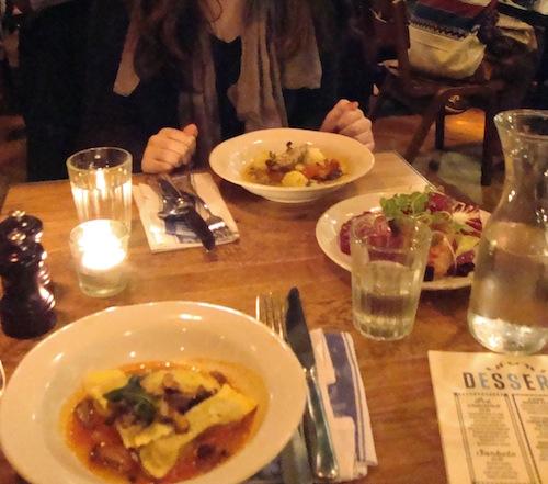 Dinner at Jamie's Italian