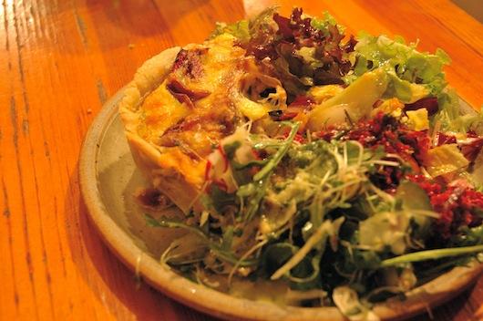 Lasagna & Salad at Food For Thought