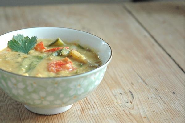 Lentil Vegetable Soup for cold winter days