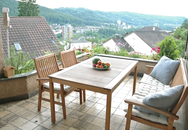 Second hand balcony furniture