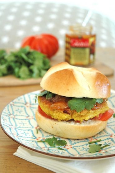 chickpea burger vegan