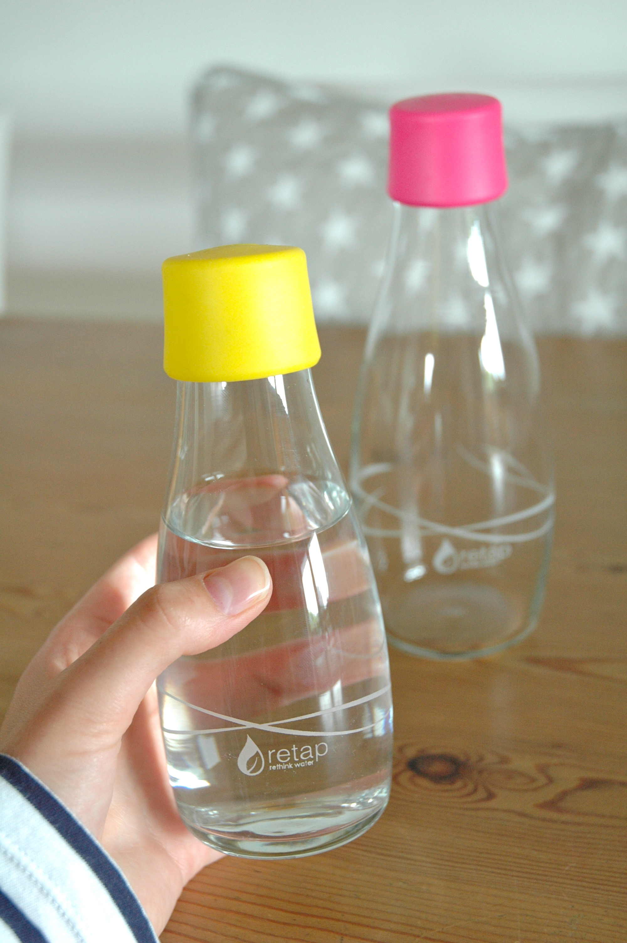 Retap water bottles