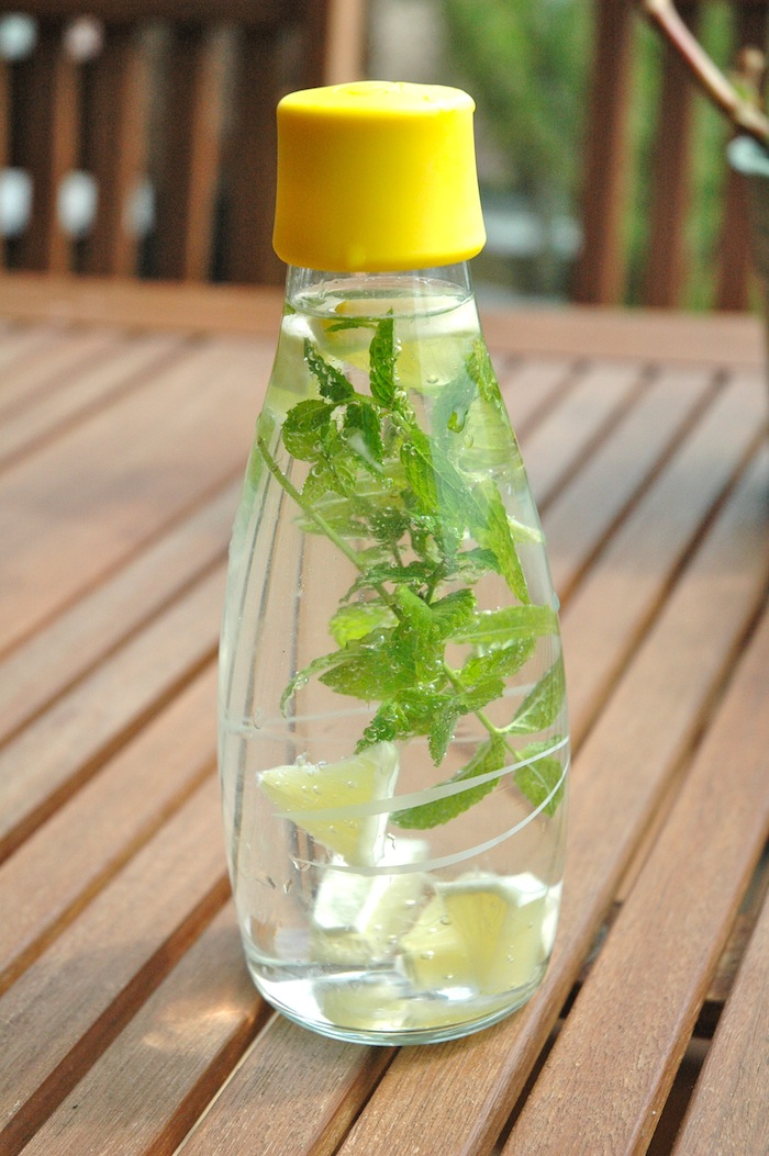 Infused tap water