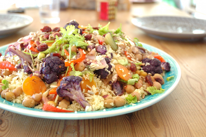 vegan vegetable couscous
