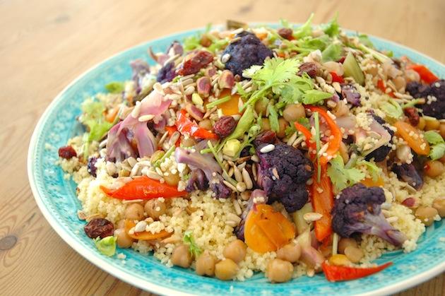 Colorful Vegetable Couscous