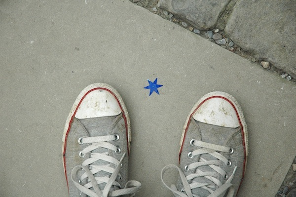 Found a lucky star and made a wish