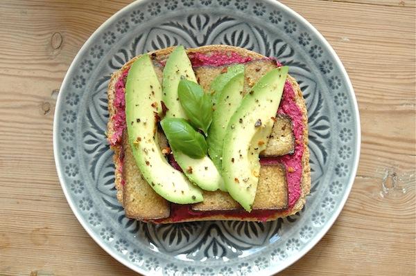 Pink sandwich
