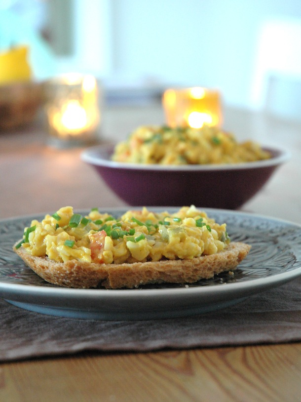 Vegan Egg Salad On Bread