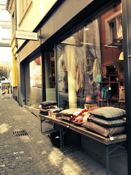 Eco friendly shopping at Change Make