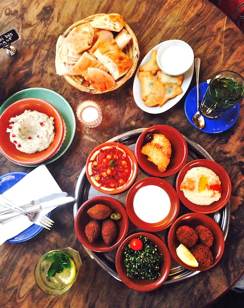 Meze galore!