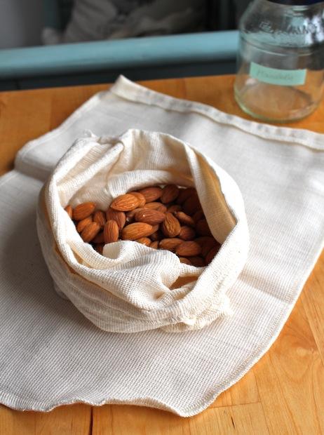 Organic hemp nut milk bags