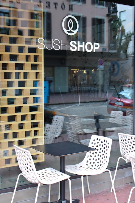 Sushi at Annecy
