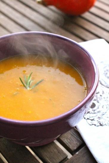 Pumpkin Chestnut Soup (Vegan)