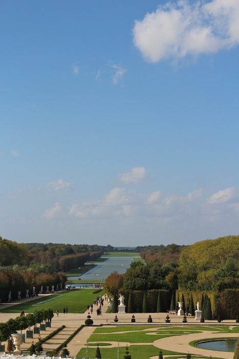 View from the Versaille palace