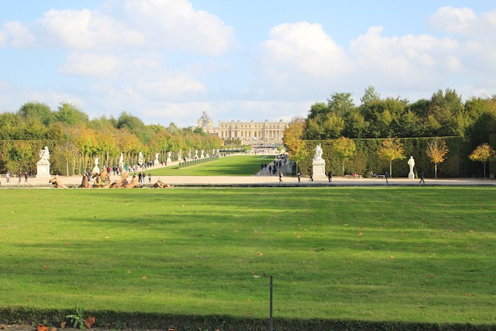 View on the Versaille palace