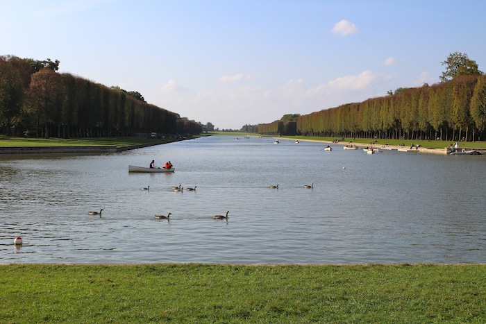 Water bassin at Versaille