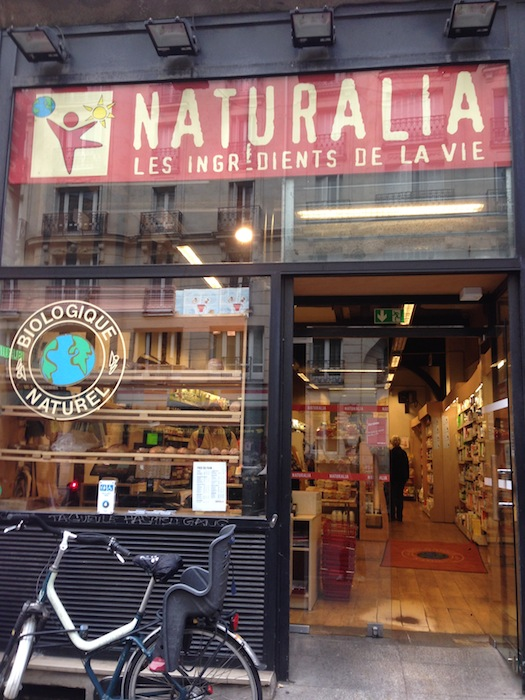 Naturalia health food store