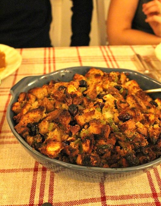 Cranberry-Cornbread-Stuffing