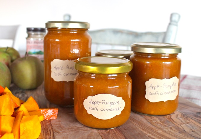 Apple-Pumkin Jam with Cainnamon