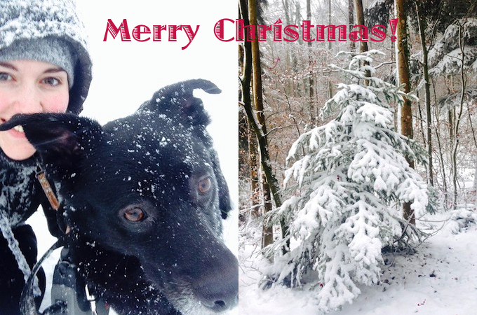 Seasonal Greetings from Fritzi and me ;-)