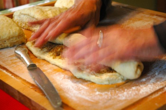 Baking Kanelbullar (pic from 2011)