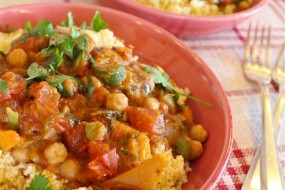 Butternut Squash & Chickpea Tagine