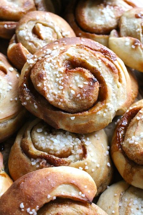 Soft and tasty cinnamon bun