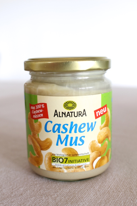 Cashew butter from Alnatura