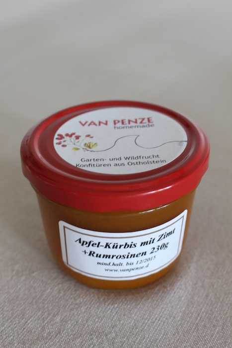 Apple Pumpkin Jam from Van Penze